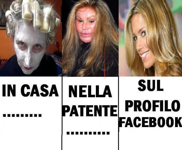 Differenze tra Facebook e vita reale...