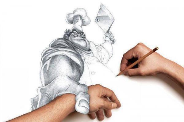 Disegnare... può essere pericoloso...
