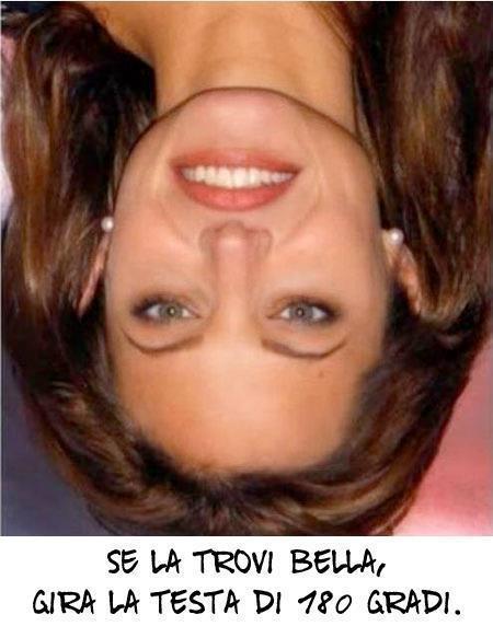 Ti piace questa donna? Prova a capovolgere la foto!!