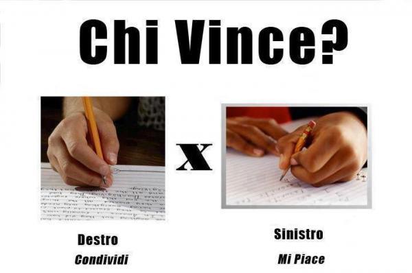 Destri vs. Mancini! Tu come scrivi?