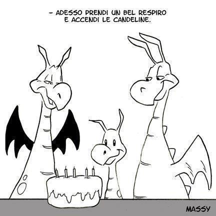 Il compleanno dei draghi...