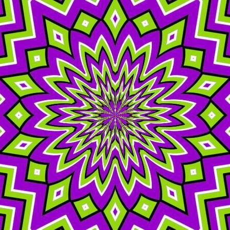 Illusione ottica - Immagine in movimento