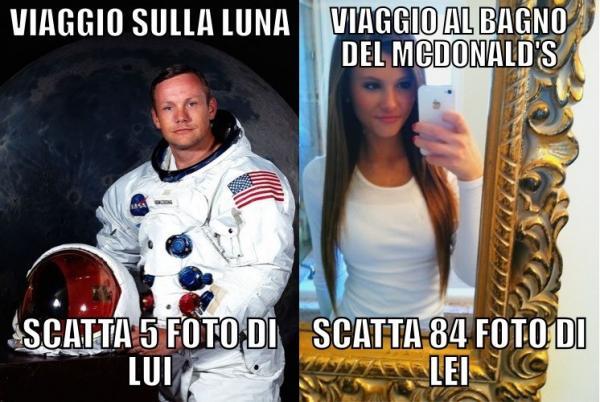 Astronauti vs. Bimbiminkia