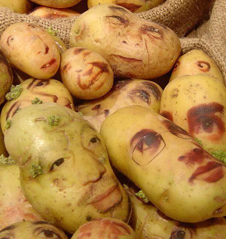 Faccia di patata...