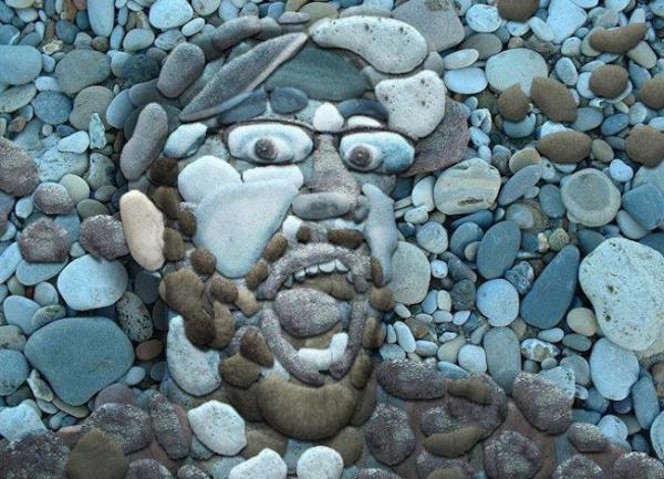 Faccia di pietra..