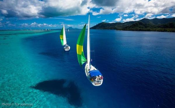 Illusione ottica ? Barche volanti?