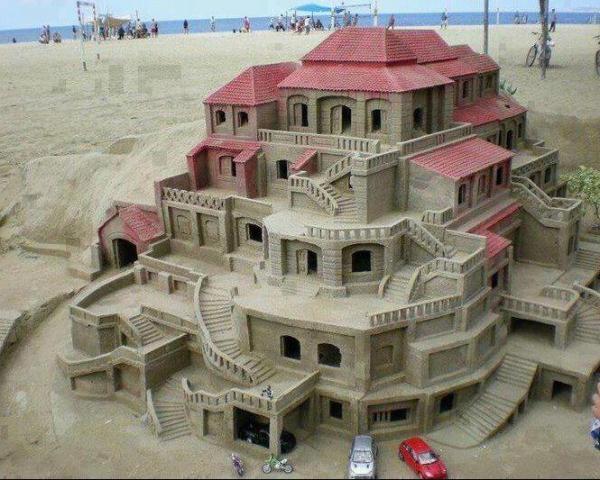 Villa di sabbia...