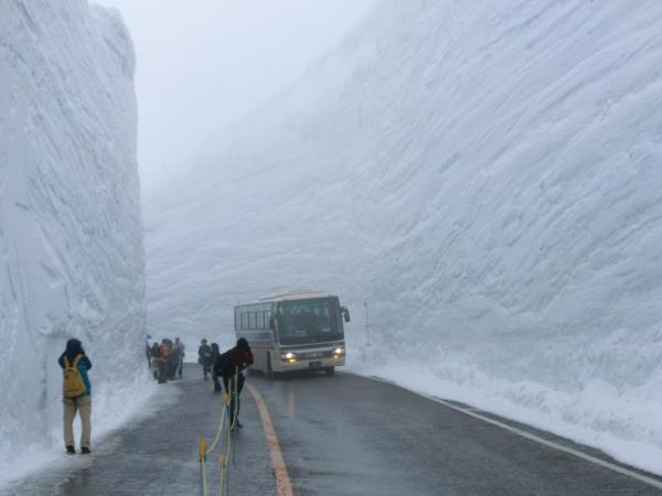 20 Metri di neve in Giappone...