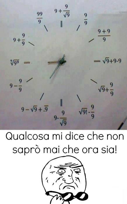 Orologi complicati...