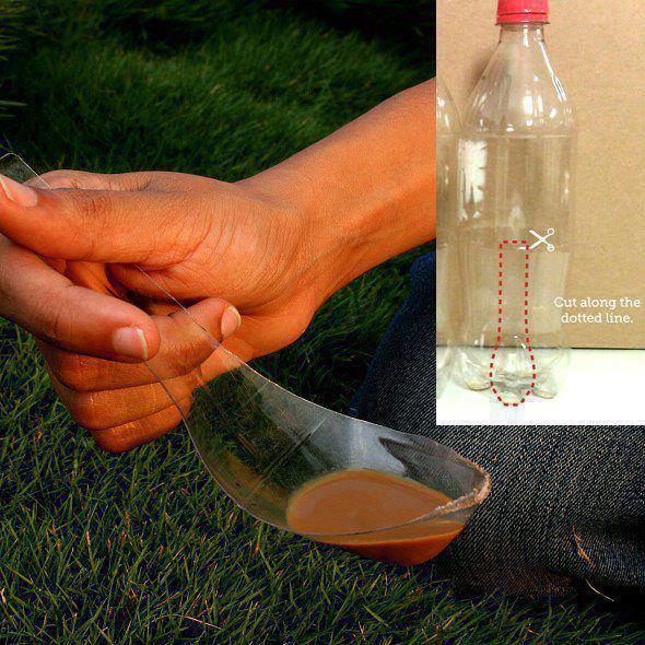 Come riciclare una bottiglia di coca cola...