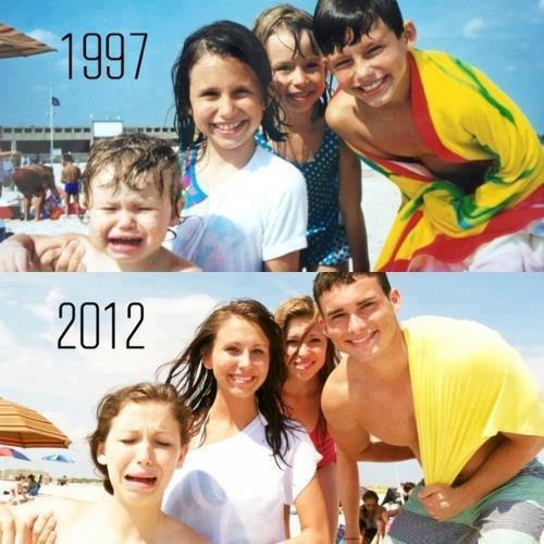 Foto 15 anni dopo...