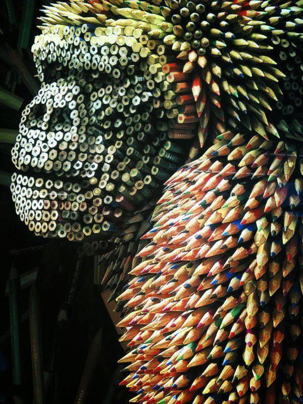 Gorilla di matite...