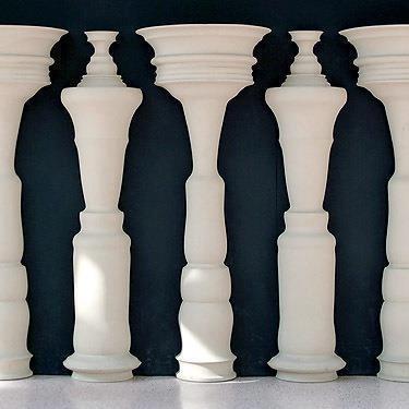 Illusione Ottica - Omini o pilastri?
