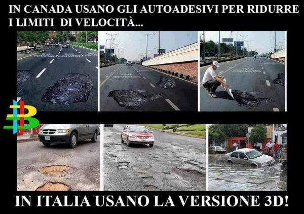 In Italia siamo avanti anni luce...
