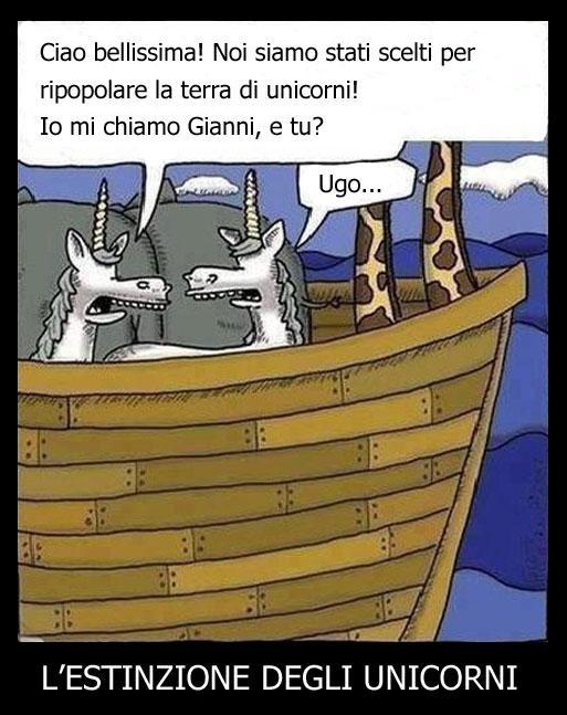 L'estinzione degli unicorni...