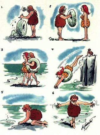 L'invenzione del salvagente...