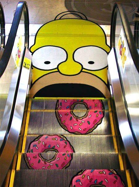 Le scale mobili di Homer Simpson...