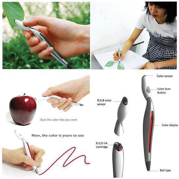 Penna multicolore...