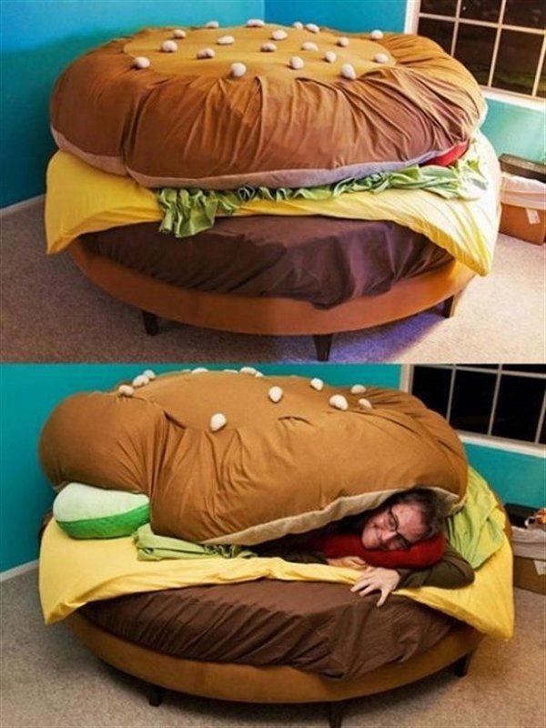 Un letto appetitoso...
