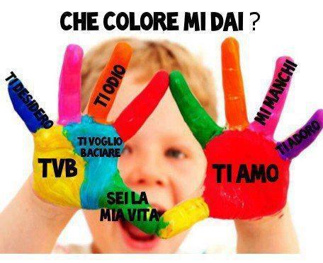Che colore mi dai?
