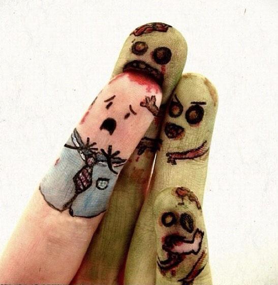 Dita zombie...