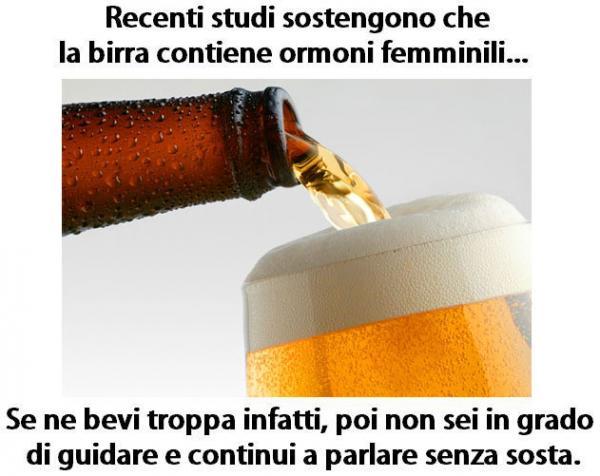 Effetti alcolici...