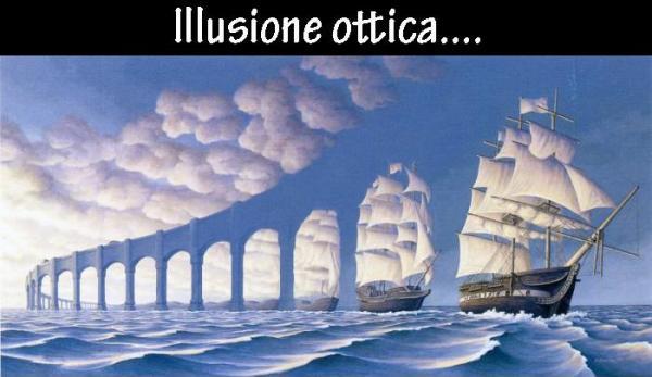 Illusione ottica - Arcata o Veliero?