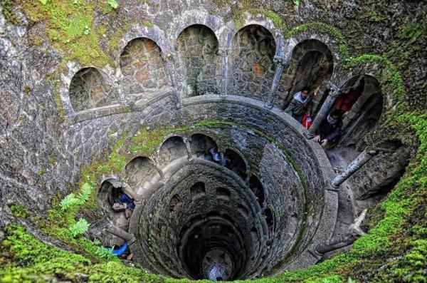 Inverted Tower - Sintra, Portugal