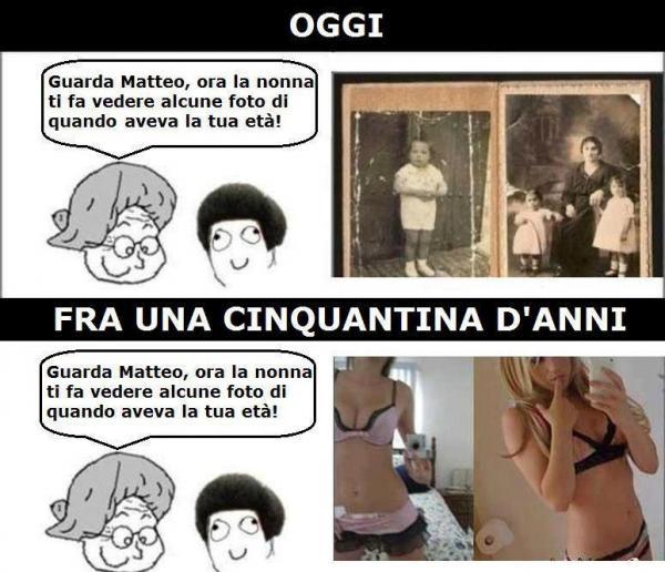 Le foto della nonna...