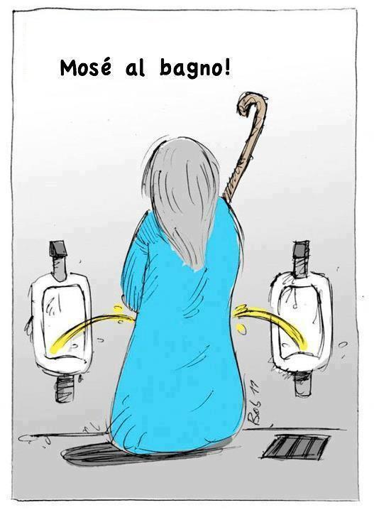 Mosè al bagno...