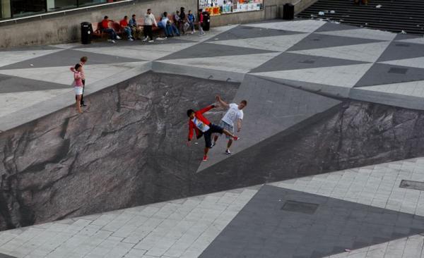 Street-Art - Piazzali pericolosi...