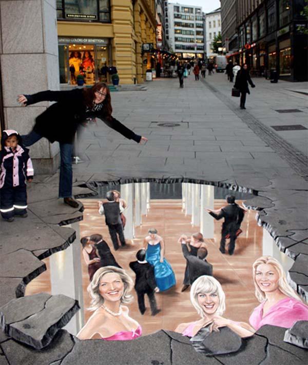 Street-Art - Sala da ballo sotterranea...