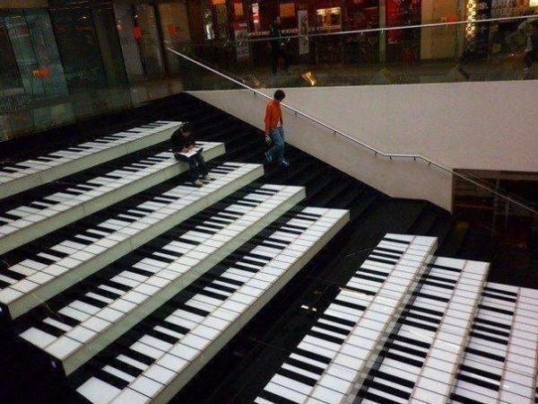 Street-Art - Scale musicali...