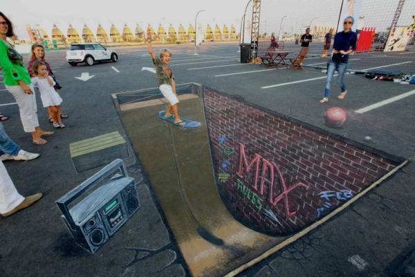 Street-Art - Skateboard...
