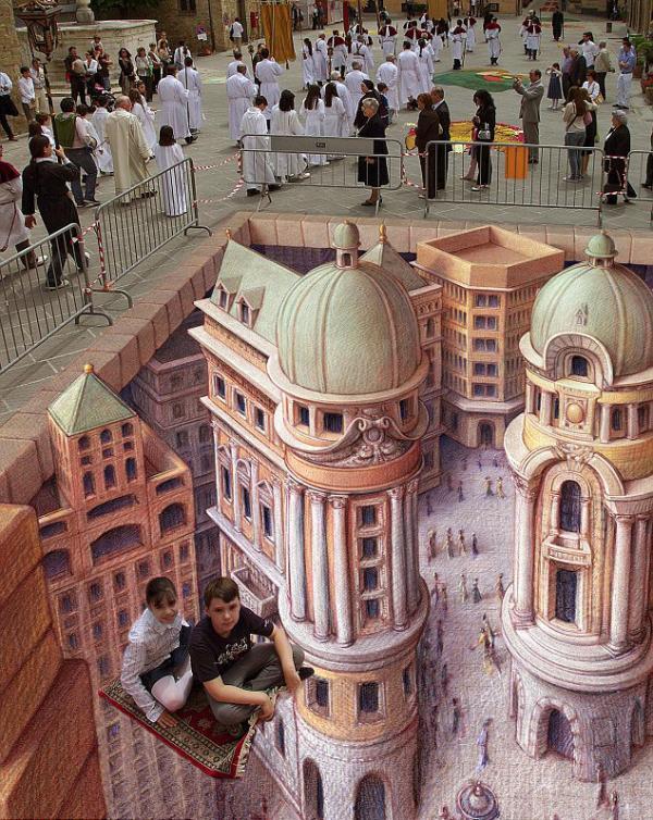Street-Art - Tappeti volanti...