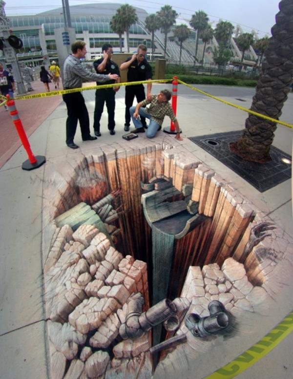 Street-Art - Tubature danneggiate...