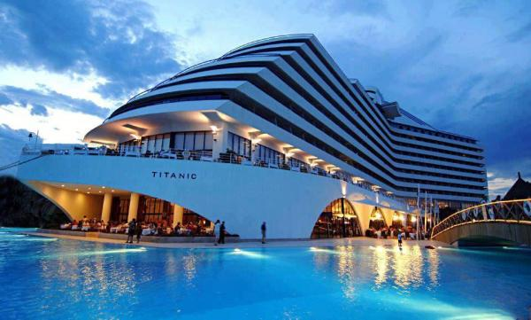 Titanic Beach Resort - Red Sea, Turkey