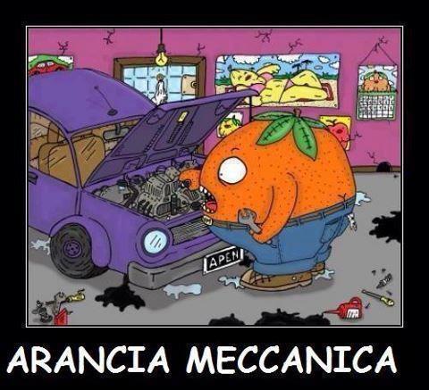 Non chiedetele un'aranciata...