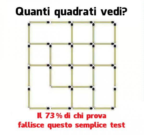 Quanti quadrati vedi?