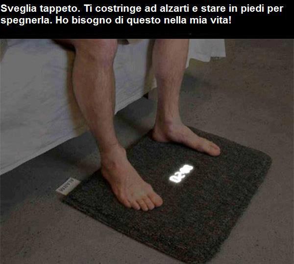 Sveglia tappeto...