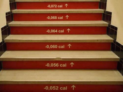 Come incentivare l'utilizzo delle scale...