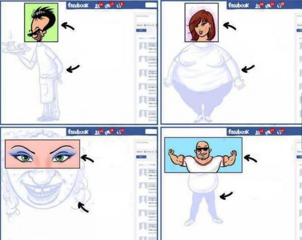 Le foto di Facebook...