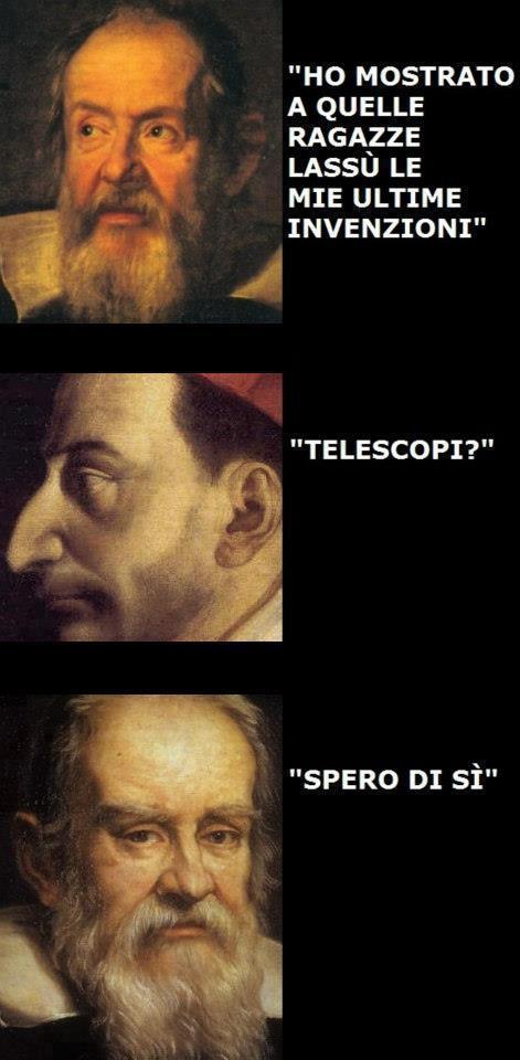 Le invenzioni di Galilei...