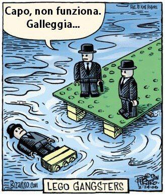 Lego gangsters...