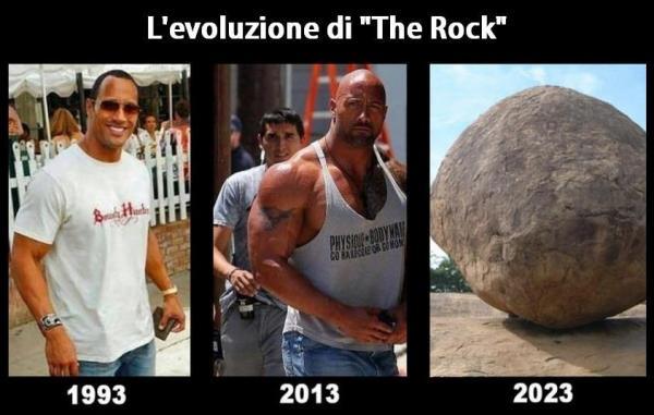 Rock evolution...