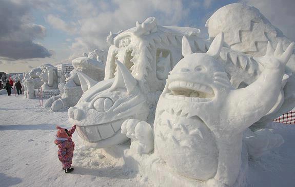 Snow-Art...