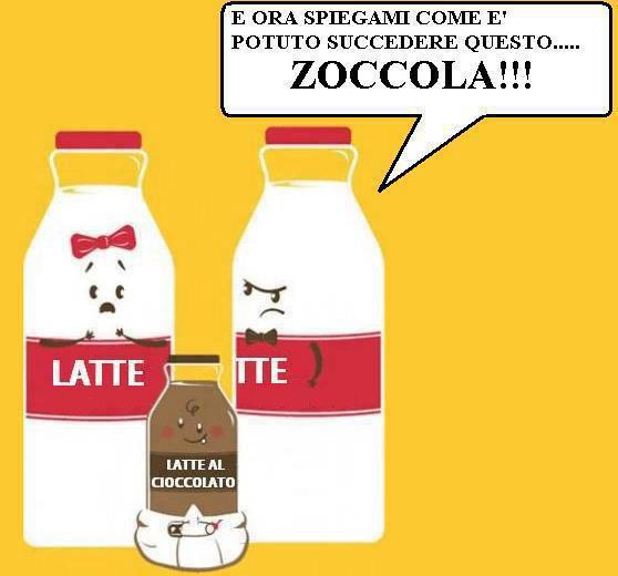 Tradimenti tra latticini...