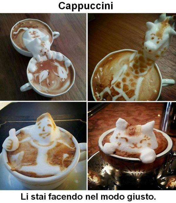 Cappuccini personalizzati...