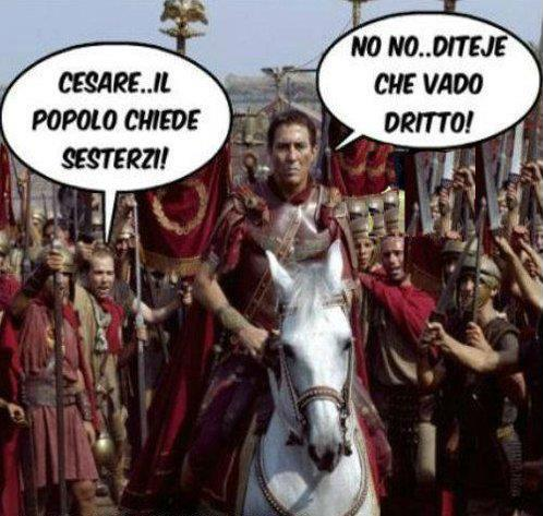 E anche nell'antica Roma...