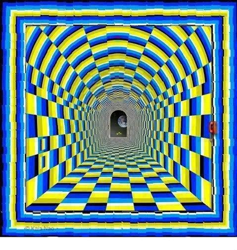Illusione ottica - Porta in avvicinamento...
